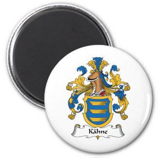 Kahne Family Crest Fridge Magnet