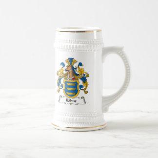 Kahne Family Crest 18 Oz Beer Stein