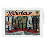 Kahoolawe, Hawaii - escenas grandes de la letra Felicitación