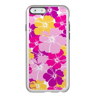 Kahuna Burst - Hawaiian Floral Design Incipio Feather Shine iPhone 6 Case