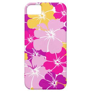 Kahuna Burst - Hawaiian Floral Design iPhone SE/5/5s Case