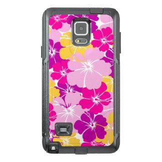 Kahuna Burst - Hawaiian Floral Design OtterBox Samsung Note 4 Case