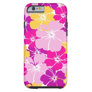 Kahuna Burst - Hawaiian Floral Design Tough iPhone 6 Case
