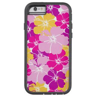 Kahuna Burst - Hawaiian Floral Design Tough Xtreme iPhone 6 Case