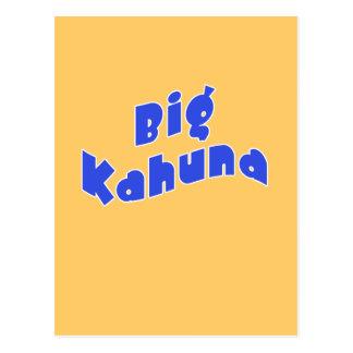 Kahuna grande con los pequeños productos a juego tarjeta postal