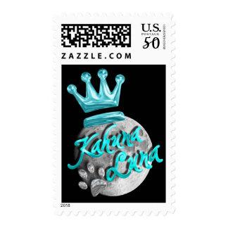 Kahuna Luna Logo 2 Postage