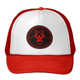 Kai Elua Outrigger 2013 | Red Logo Trucker Hat