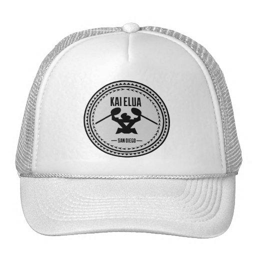 Kai Elua Outrigger 2013   Silver Logo Trucker Hat