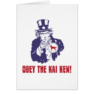 Kai Ken Card