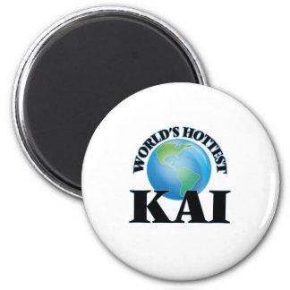 Kai más caliente del mundo imán de frigorífico