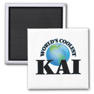 Kai más fresco del mundo imán