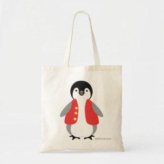 Kai Penguin Canvas Bag
