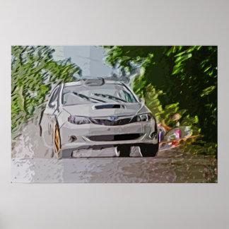 Kai Tuned Subaru WRX TRCC Poster