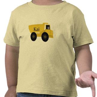 Kai Yellow Dump Truck T-Shirt