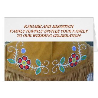 KAIGABE AND MEGWITCHFAMILY HAPPILY... - Customized Card