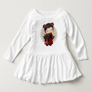Kaiko the kokeshi doll t-shirt