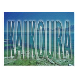 Kaikoura Tarjeta Postal
