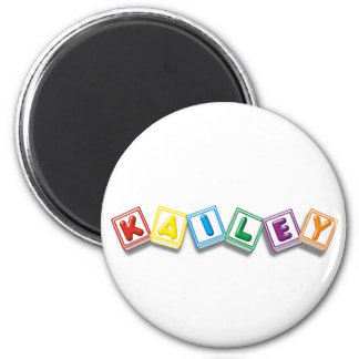 Kailey 2 Inch Round Magnet