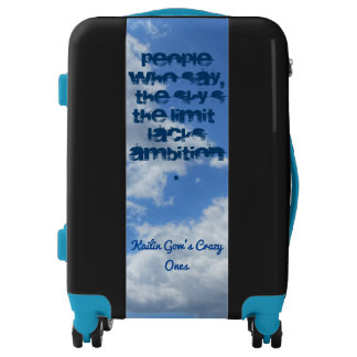 Kailin Gow's Crazy Ones Sky's the Limit Luggage