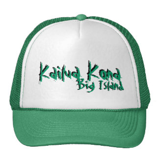 Kailua Kona big island hawaii green hat