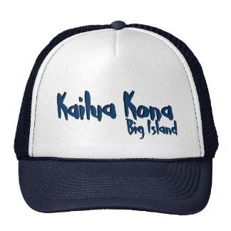 Kailua Kona big island hawaii navy hat