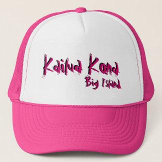 Kailua Kona big island hawaii pink hat