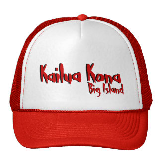 Kailua Kona big island hawaii red hat
