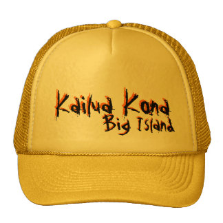 Kailua Kona Big Island hawaii yellow hat