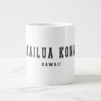 Kailua Kona Hawaii 20 Oz Large Ceramic Coffee Mug