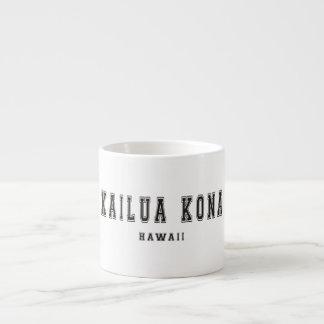 Kailua Kona Hawaii 6 Oz Ceramic Espresso Cup
