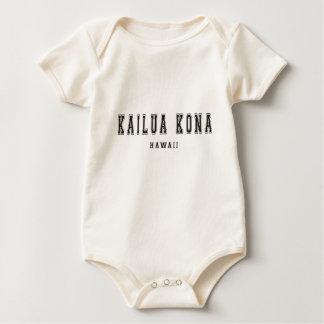 Kailua Kona Hawaii Baby Bodysuit