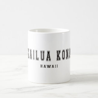 Kailua Kona Hawaii Classic White Coffee Mug