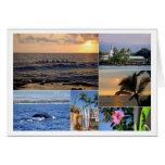 Kailua Kona Hawaii Collage Card