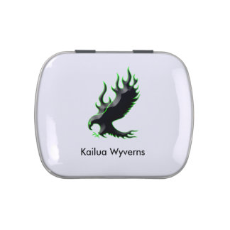 Kailua Wyverns Jelly Belly™ Candy Tin