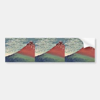 Kaisei de Gaifu por Katsushika, Hokusai Ukiyoe Pegatina Para Auto