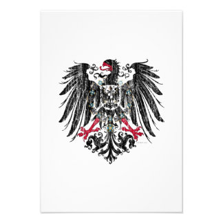 Kaiser Eagle Custom Invitations