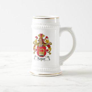 Kaiser Family Crest Coffee Mugs