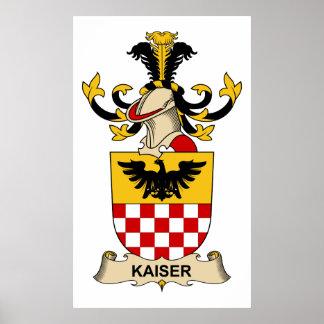 Kaiser Family Crest Print