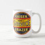 Kaiser Frazer cars sign Coffee Mug