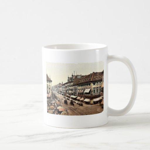 Kaiser Strasse, Karlsruhe, Baden, Germany classic Coffee Mugs