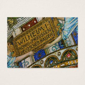 Kaiser Wilhelm Church, Berlin, Plague, Mosaic Tile Business Card