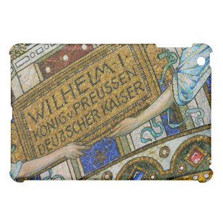 Kaiser Wilhelm Church, Berlin, Plague, Mosaic Tile iPad Mini Covers
