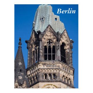 Kaiser Wilhelm Gedachtnis Kirche, Berlin Postcard