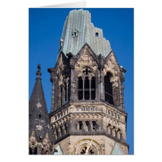 Kaiser Wilhelm Gedachtnis Kirche, Berlín Tarjeta De Felicitación