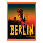 Kaiser-Wilhelm-Gedächtniskirche en Berlín Tarjetas Postales