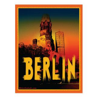 Kaiser-Wilhelm-Gedächtniskirche in Berlin Postcards