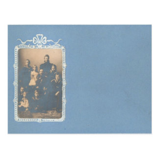 KAISER WILHELM II with his family #016D Postcard
