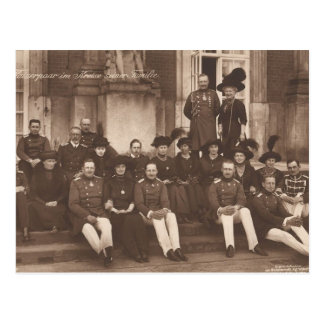KAISER WILHELM II with his family #026D Postcard