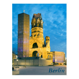 Kaiser Wilhelm Memorial Church, Berlin Postcard
