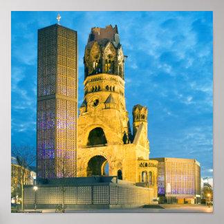 Kaiser Wilhelm Memorial Church, Berlin Poster